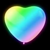 LED-Ballonger hjärta RGB  5-pack